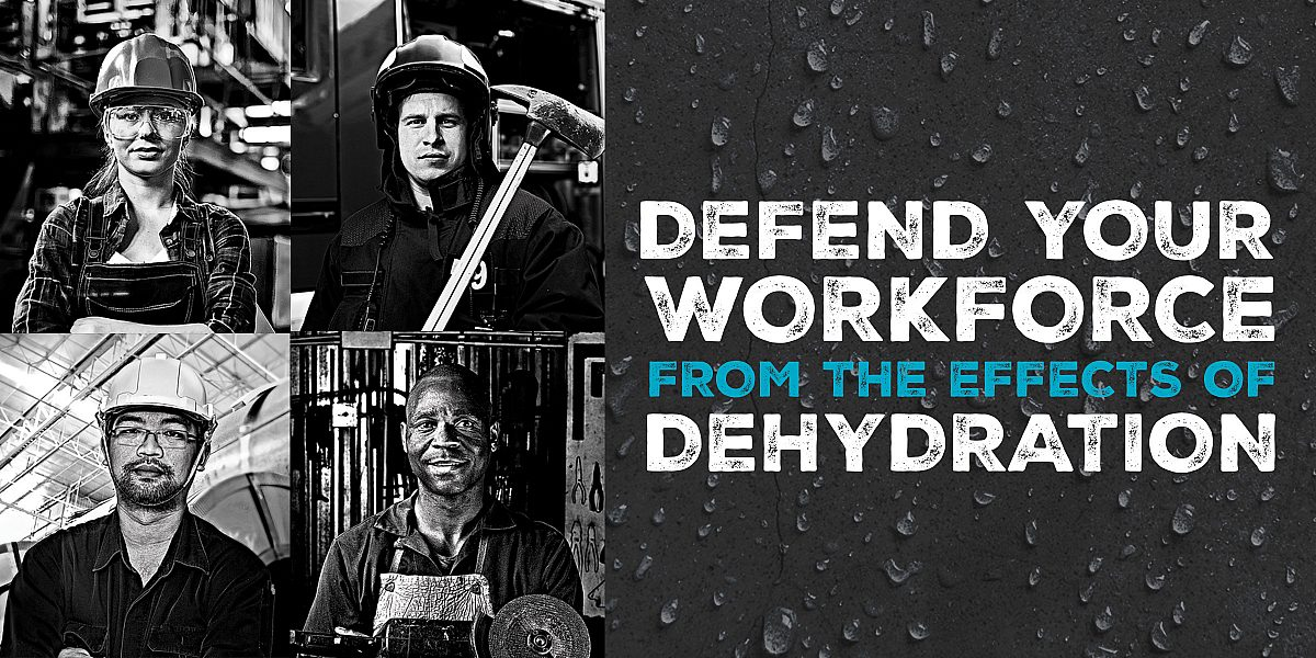 Defend Your Workforce from the Effects of Dehydration